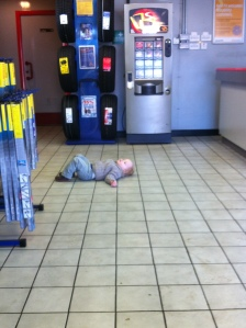 Fun Photo Fun – Temper Tantrum in Kwik Fit The Oliver\\\'s Madhouse