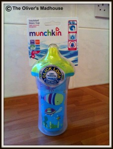 Click lock insulated sippy cup